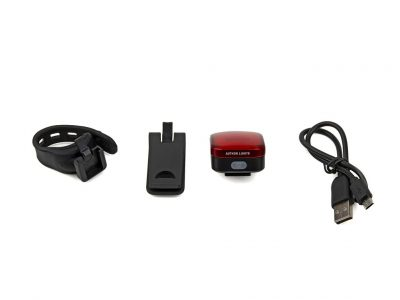 SVETLO ZADNÉ A-SQUARE USB CobLed 40 lm
