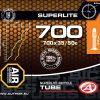 DUŠA AT - CROSS-700C SuperLite 700 X 35/50C