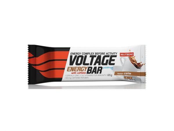 NUTREND VOLTAGE ENERGY BAR WITH CAFFEINE 65 G
